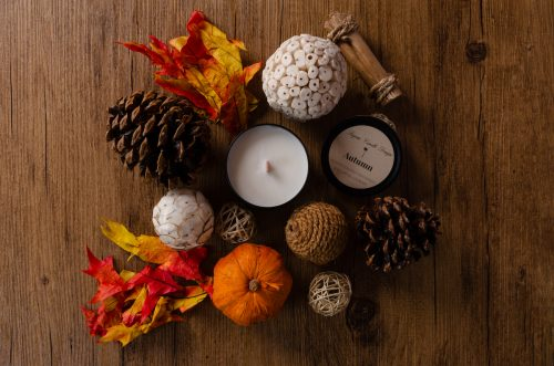Autumn candle from Lagom Candle Design